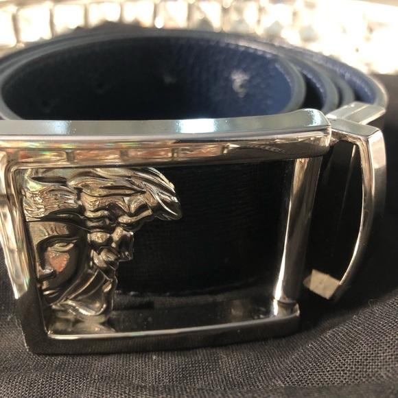 Versace Other - Beautiful Versace reversible belt.